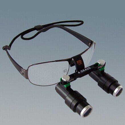 550Mm 4.0X,5.0X,6.0X Binocular Kepler Head Band Loupe Magnifier Glasses Fd-502K-2010 By Superdental (4.0X)
