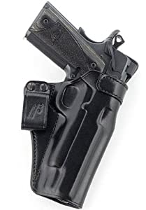 Galco N3 Inside the Waistband Holster (Black), HK USP Compact 9/40, Right Hand