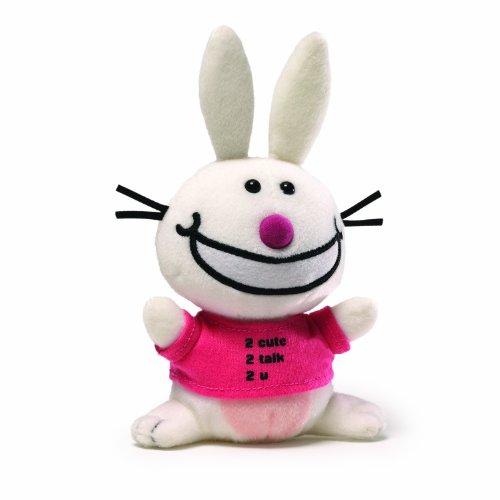 It's Happy Bunny Beanbag - 2 Cute 2 Talk 2 U - 1