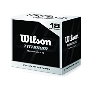 Wilson Titanium Ball (18 Ball Pack) by Wilson Golf
