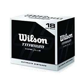 Wilson 18 Pack Titanium Ball