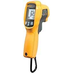 Fluke 62 Max + *Factory Reconditioned* 12:1 Infrared Thermometer, -22F to 1202F