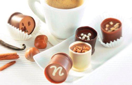 Roland Chocolate Parfait Truffle, Decadence, 150-Count