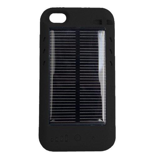 ソーラーバッテリー 内蔵ケース ( おでかけチャージャーソーラー ) 2400mAh iPhone4S ケース一体型 大容量 予備電池 ソーラーパネル ( 太陽電池 ) モバイルバッテリー mophie juice pack plus / mophie juice pack air / eneloop / enecycle /iBUFFALO ミヨシ MCO ポケットソーラーバッテリー パワーバンク パワーフィルム AA ソーラーチャージャー AAL-BL パワーフィルム PowerFilm ソーラーチャージャーバッテリー Arctic Cooling / 同等クラス の 大容量バッテリー と 太陽光充電 一体型充電器 なのでiPhone4 電源 としても 便利 / 通勤 ・ 出張 ・ 旅行 ・ 帰省 ・ アウトドア に最適 選べる 二色( 黒 ブラック )/ USB でも 電源補充