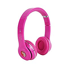 S460-PINK Bluetooth Headphone With FM and Calling
