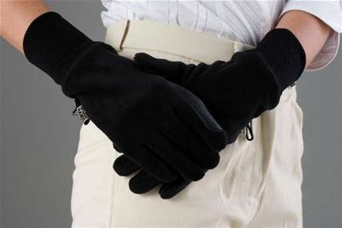 Dubiln Adult Everyday Polar Fleece Waterproof Riding Gloves - Size:Xlarge Color: