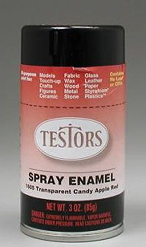 Red Spray Testors Enamel Plastic Model Spray Paint (Spray Paint For Car Lights compare prices)