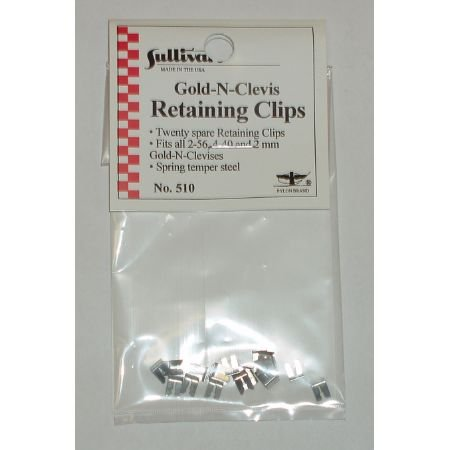 Sullivan Products Spare Retaining Clips (20) - 1
