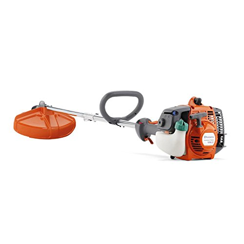 HUSQVARNA Refurbished 128LD 28cc 2 Stroke Gas Powered Line Grass Lawn Trimmer Straight Shaft (Certified Refurbished)
