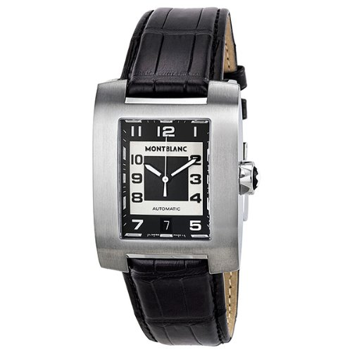 Montblanc Profile XL Automatic Black and White Dial Mens Watch 8553