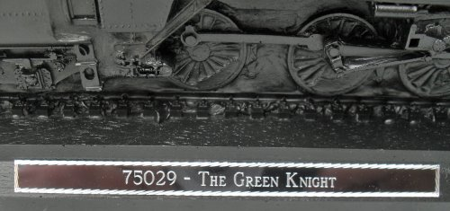 Green Knight Steam Engine - Coal Model - Hand Crafted - 108