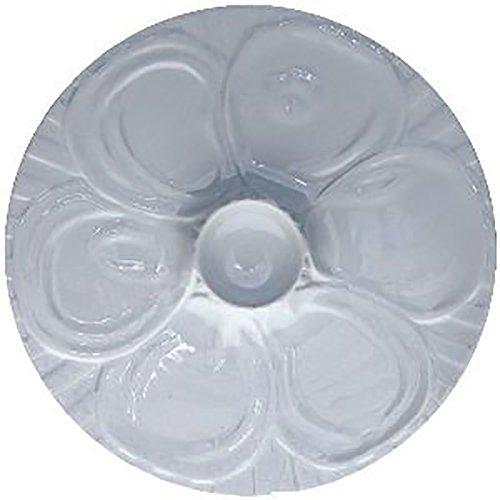 COSY & TRENDY - Assiette à huitres blanches 28,5 cm