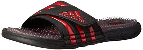 Adidas Performance Men'S Adissage Fade Slide Sandal, Core Black/University Red/Black 1, 10 M Us front-857335