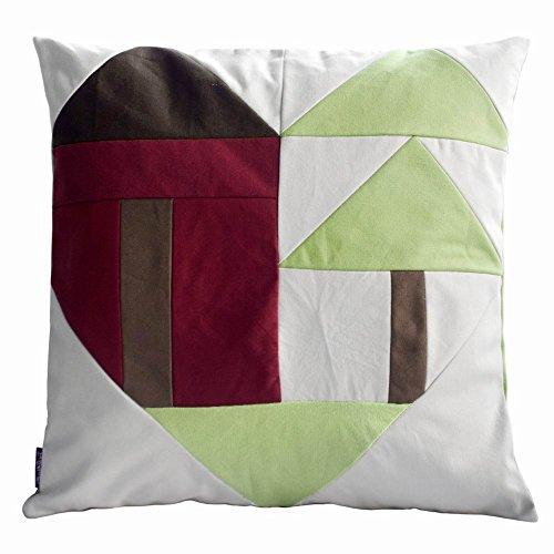 modernen Stil dekorative Kissen mit Einsatz Sofa / Bett Kissen, 48 * 48 cm