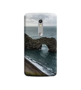 TransMute Premium Printed Back Case Cover With Full protection For Moto X Force (Designer Case)