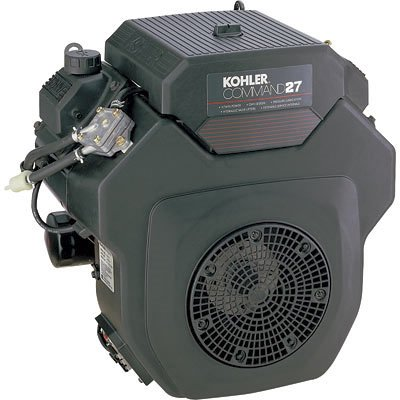 Kohler: Command V-Twin Horizontal Engine With Electric Start ? 27 Hp,