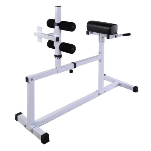 New Fitness Hyper Extension Hyperextension Bench Chair Workout Core Abdominal front-383456