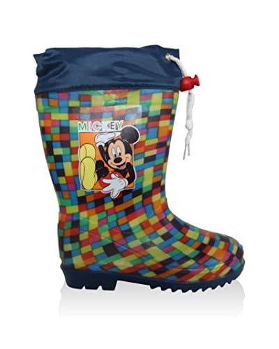 Disney Stivale In Gomma Mickey [Multicolore]