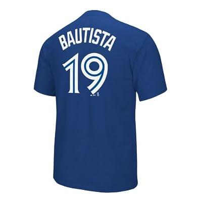 MLB Toronto Blue Jays Jose Bautista #19 Player T-Shirt - Royal Blue