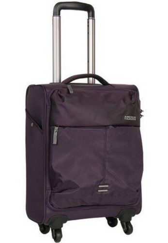 American Tourister Smart NylonPurple Suitcase (Z94 (0) 50 004) (black)