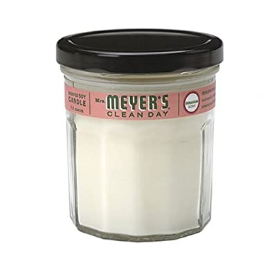 Mrs. Meyers Clean Day, Soy Candle, Geranium Scent, 7.2 oz from Mrs. Meyers Clean Day