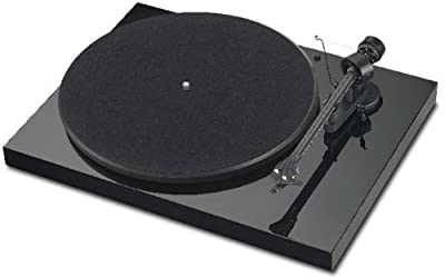 Pro-Ject Debut Carbon USB Turntable with Cartridge and USB Output (Black) by Pro-Ject