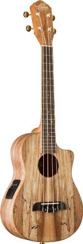 Oscar Schmidt Ou8Tlce Spalted Maple Acoustic-Electric Tenor Ukulele