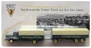 Ganter Nr.02 - Privatbrauerei Ganter Freiburg - MAN Büssing 8000 - Hängerzug Oldie