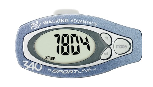 Cheap Sportline 340 Step & Distance Pedometer (CA – 4360005)