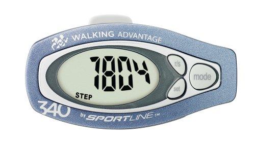 Cheap Sportline 340 Step & Distance Pedometer (CA – 4360005)