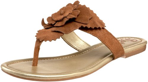 Seychelles Women's Voice of Reason Thong Sandal,Whiskey,8 M US
