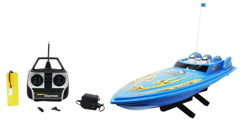 Large High Speed 668 King Cruiser Electric RTR RC Boat Big Remote Control Quality RC Boat Powerful Dual Propellers Perfect for Lakes, Ponds, Rivers, and Pools