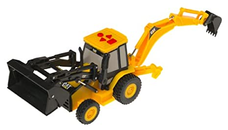 Cat Backhoe Toy Toy State Cat Big Builder