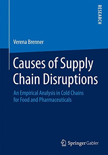 Causes of Supply Chain Disruptions: An Empirical Analysis in Cold Chains for Food and Pharmaceuticals