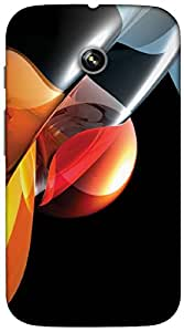 Timpax protective Armor Hard Bumper Back Case Cover. Multicolor printed on 3 Dimensional case with latest & finest graphic design art. Compatible with only Motorola Moto - E-1st Gen. Design No :TDZ-20086