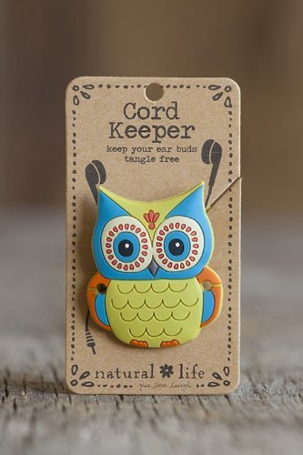 Natural Life Cord Keeper - Owl