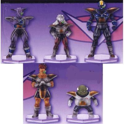 ドラゴンボール改 フリーザ軍団が集結したフィギュアシリーズ 組立式FREEZAS FORCE 2 全5種セット
