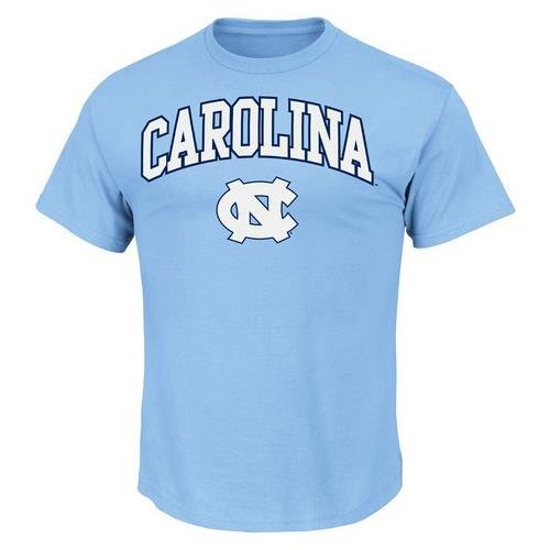 North Carolina Tarheels Majestic Arch Mascot T-Shirt at Amazon.com
