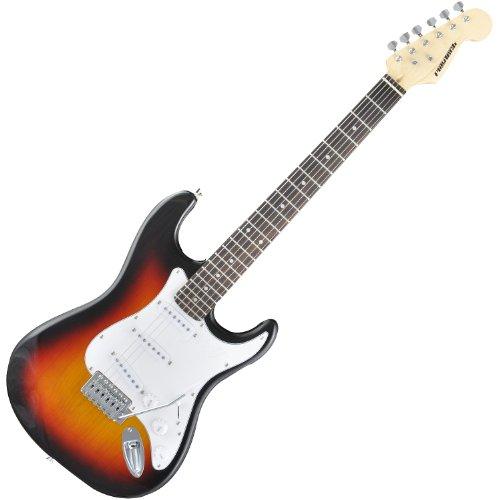 PLAYTECH エレキギター ST250 SUNBURST ストラトキャスタータイプ