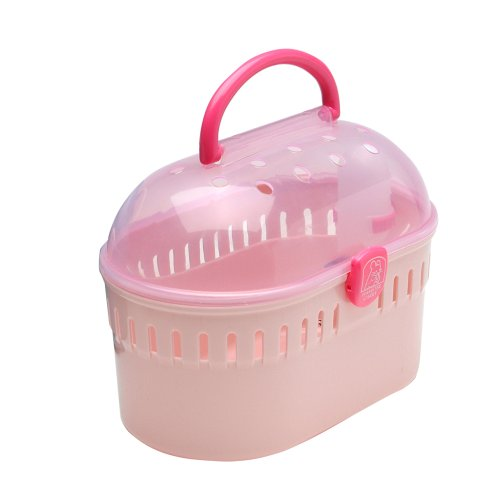 IRIS Small Animal Carrier, Pink