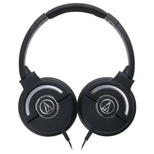 audio-technica SOLID BASS ATH-WS55X BLACKの写真02。おしゃれなヘッドホンをおすすめ-HEADMAN(ヘッドマン)-