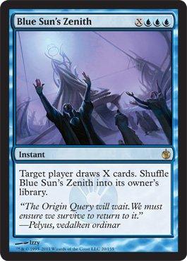 Blue Sun's Zenith - Mirrodin Besieged - Rare