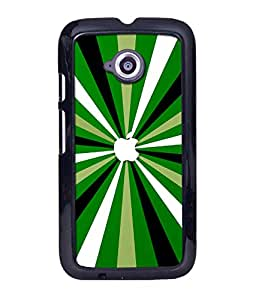 instyler DIGITAL PRINTED BACK COVER FOR MOTO E2
