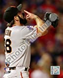 Brian Wilson Celebrates Winning Game Five of the 2010 World Series - 8x10 Photo