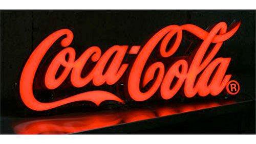 コカコーラ(Coca-Cola)ミニレタリングサイン LEDネオンサイン ネオンランプ ネオン管/ネオン看板/看板 USA