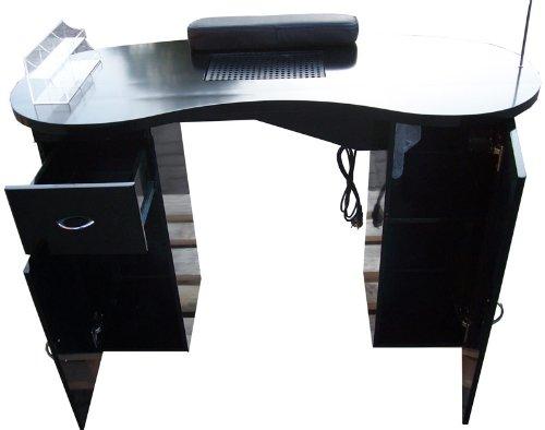 Manikre-Tresen-Manikretisch-mit-Absaugung-Filterkammer-sowie-Handauflage