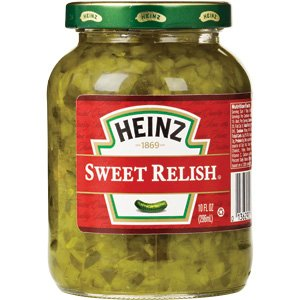 Amazon.com : Heinz Sweet Relish 10 oz. (3-Pack) : Pickle ...