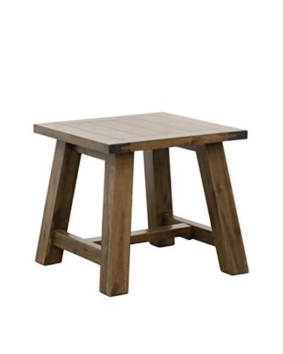 Tottenham Court Echo Stool/End Table, Walnut