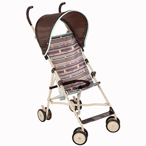 Disney Umbrella Stroller with Canopy, My Hunny Stripes - 1