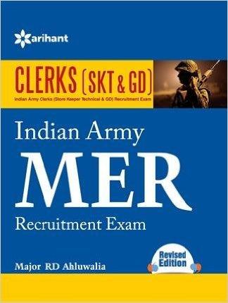Indian Army MER Clerks (SKT & GD) Recruitment Exam